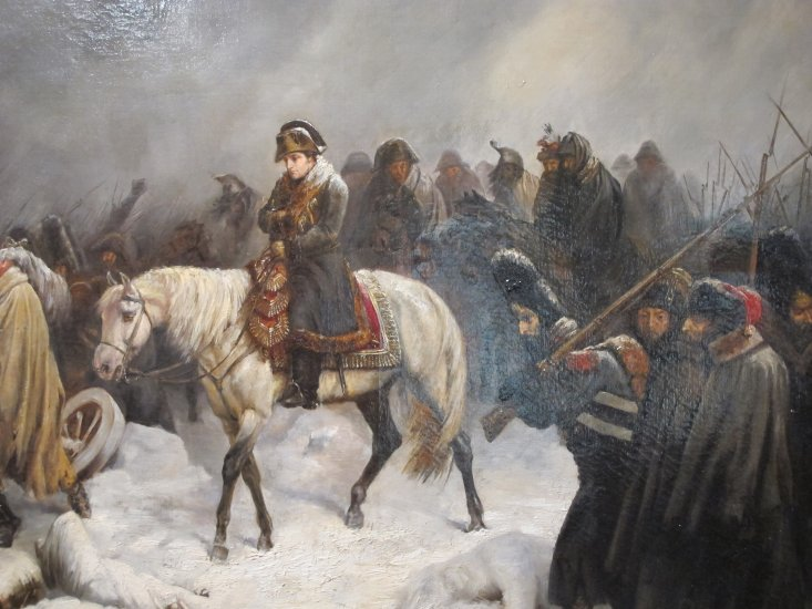 Image result for napoleon's forces begin retreat from moscow